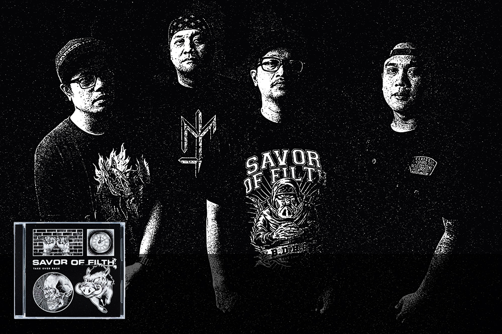 SAVOR OF FILTH – TAKE OVER BACK